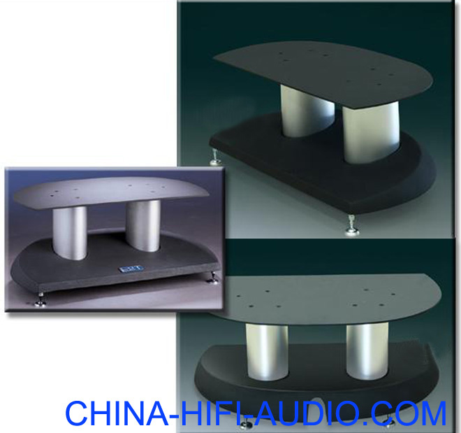 E&T 55-G1 center speakers loundspeakers stands pair h=21cm