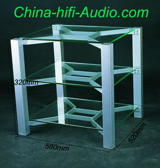 E&T-TV-5802 Audio Equipments rack for hifi AMP and CD player