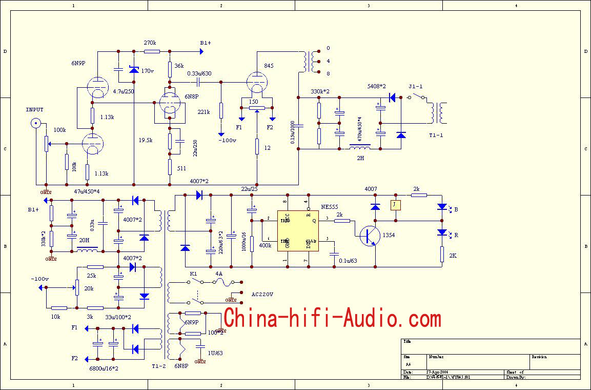 High End Tube   Schematics on hi fi tone control pre schematic