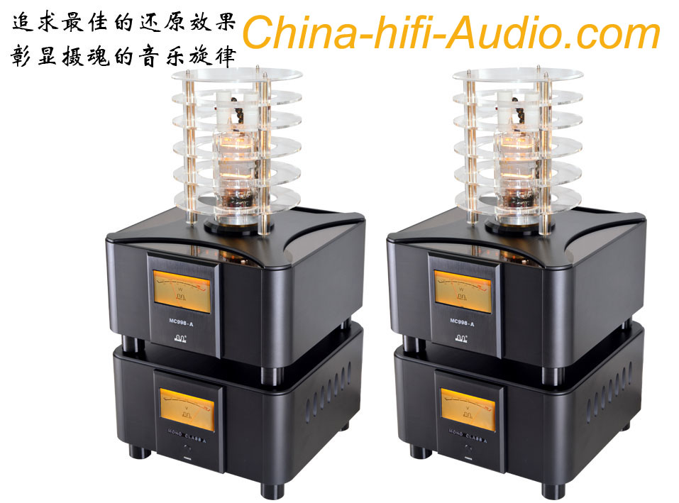 MING DA MC998-A MONO BLACK POWER AMPLIFIER CLASS A MEIXING Pair