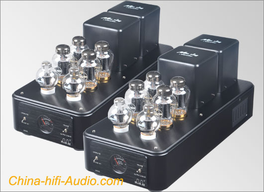 MingDa MC90-AB KT90*8 mono block power amplifier pair triode/UL