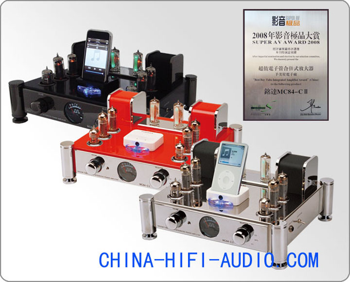 Meixing MingDa MC84-C II EL84 tube Integrated Amplifier control