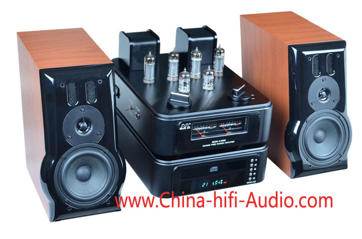 Meixing MC84-C Mini power amplifier Mini CD player HiFi music ce