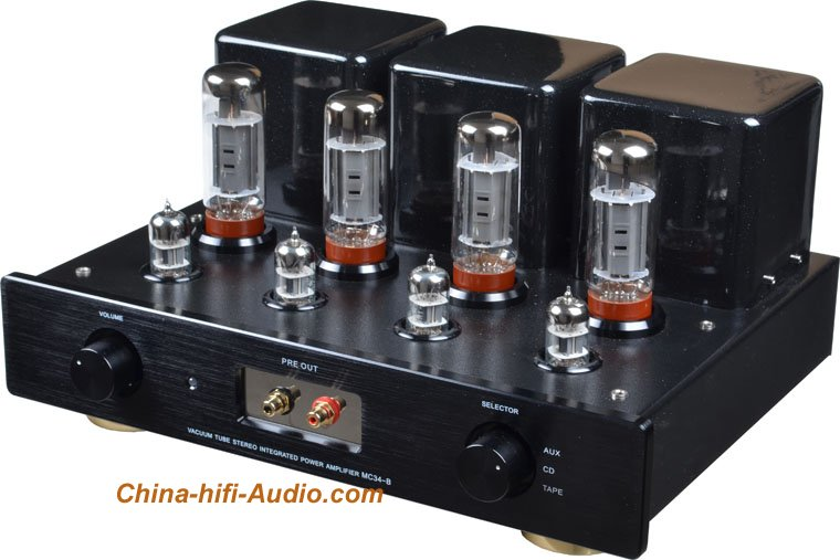 MingDa MC34-B 6L6*4/EL34*4 valve preamp & Integrated Amplifier