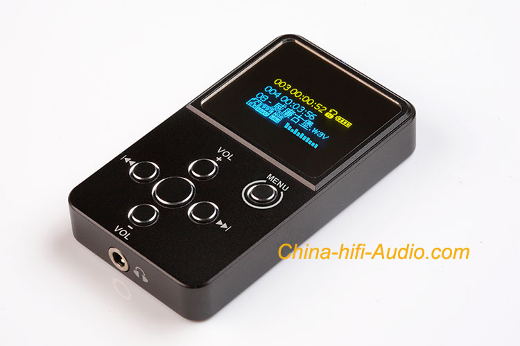 xDuoo X2 portable music player APE FLAC WAV MP3 WMA audio O-LED
