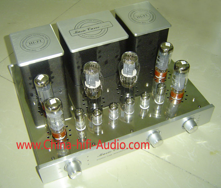 Music Curve D-2020-EL34-B vacuum tube Integrated Amplifier Delux