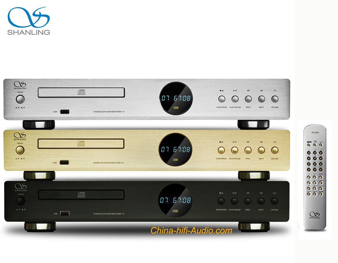 Shanling CD-S100(15) HDCD CD player hifi with USB MP3 remote new