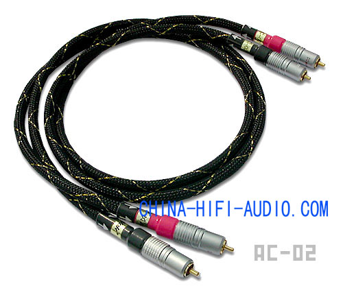 Xindak AC-02 Analogue Interconnects Cable Pair AC02 New