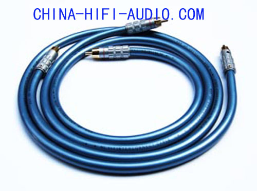 BADA HL-1+1 Audiophile RCA Plugs Audio Interconnect Cable