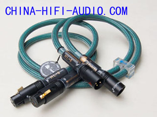 BADA HL-6 HL6 XLR Balanced Audio Interconnects Cables