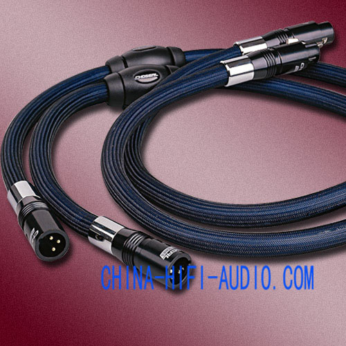 Choseal BB-5605 Balanced Interconnects Cables XLR plug 1 meter