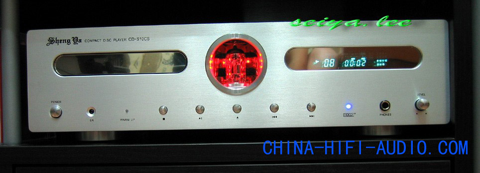 Shengya CD-S10CS HiFi Balanced Vacuum Tube CD Player