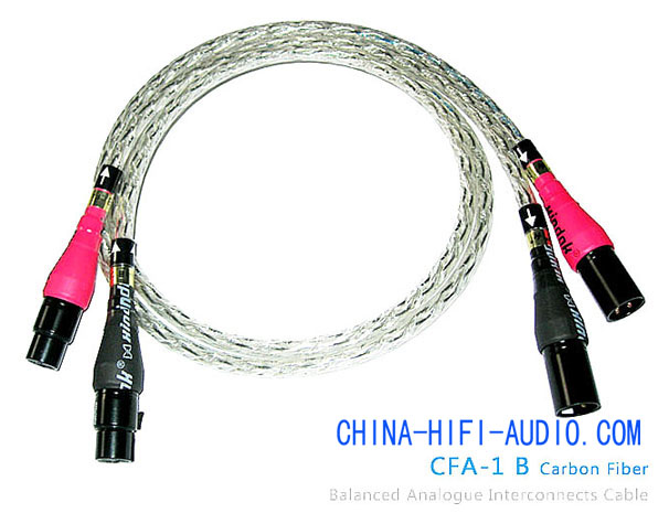 Xindak CFA-1B Carbon Fiber Balanced Interconnects Cable