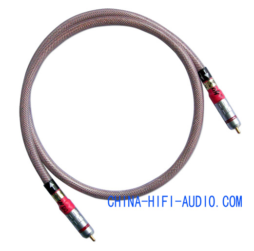 Xindak CFD Carbon-fiber Digital Coaxial Cable Connecto