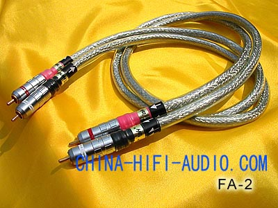 Xindak FA-2 Analogue Interconnects Cable Pair FA2 New