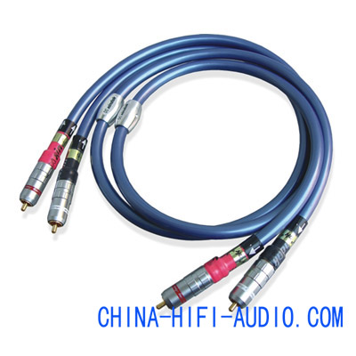 Xindak FA-5 Analogue digital connect Cables Pair RCA 1m