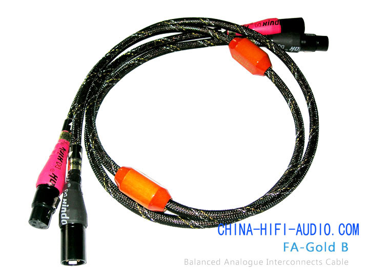 Xindak FA-Gold B Audio Amp Balanced Interconnect Cable