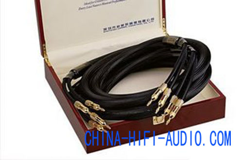 Choseal LA-5101 speakers loudspeaker cables banana plug OD=25mm