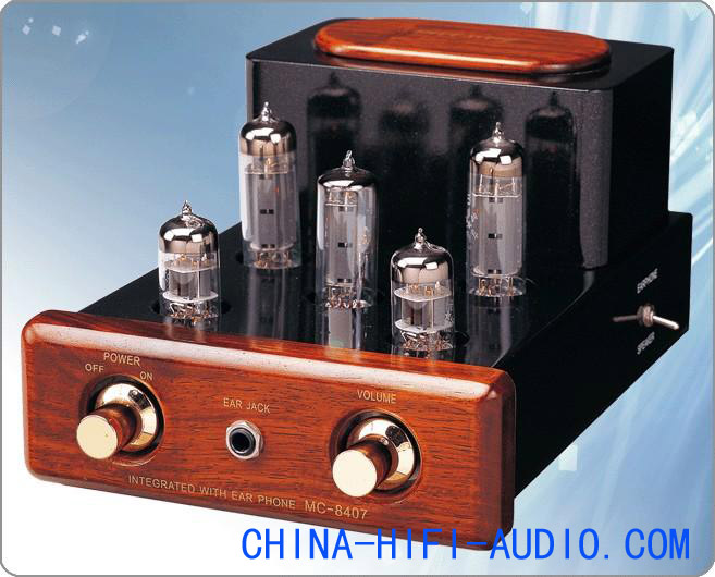 Meixing MC84-C07 MingDa Tube Amplifier MP3 Headphone