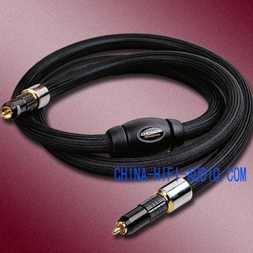 Choseal TA-5201 Audio Coaxial digital Cable audiophile OCC hifi
