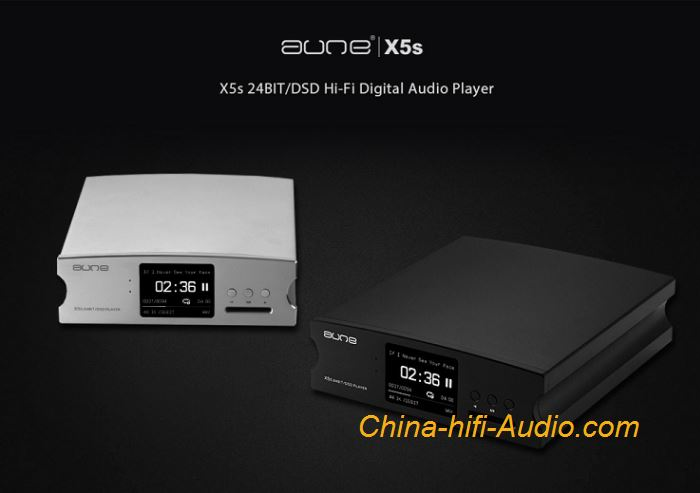 AUNE X5s 24BIT/DSD DAC Digital Hi-Fi Audio Player SD Card MINI Digital Player