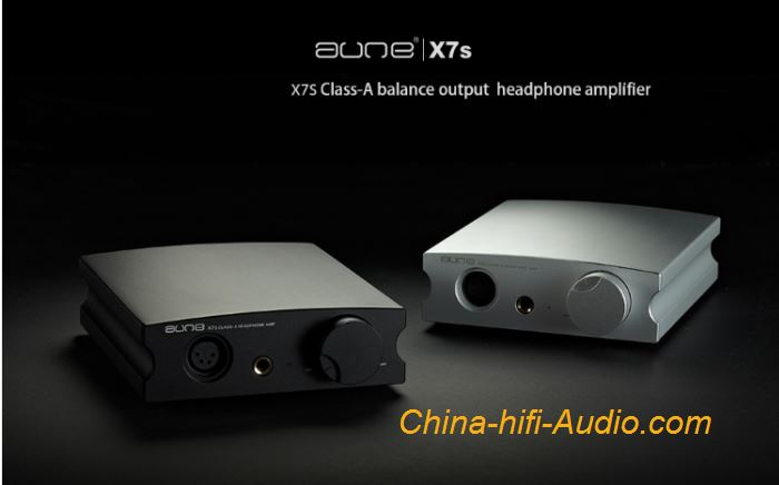 AUNE X7S Class A Mini Headphone amp HiFi earphone amplifier balanced output XLR
