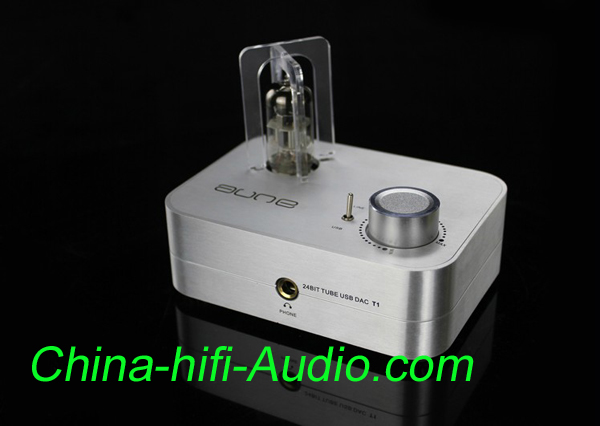 Aune Audio high version T1 24BIT TUBE 6922 earphone amp silver