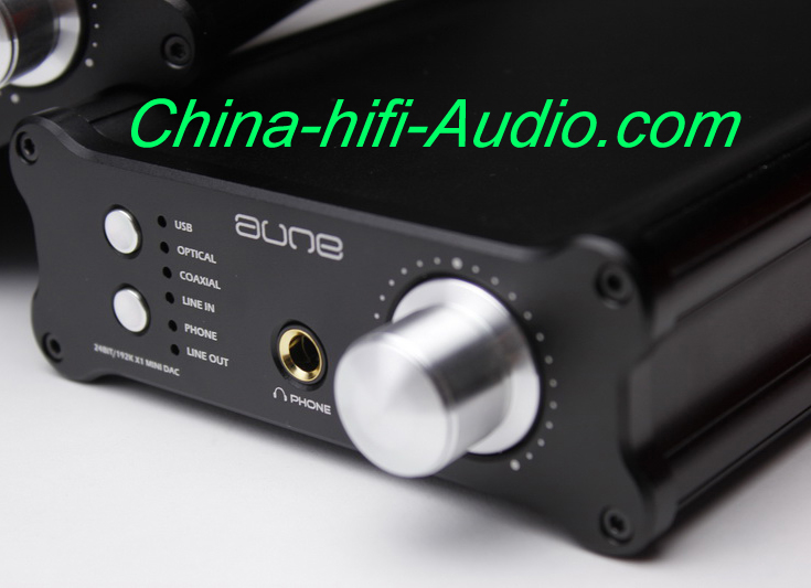 Aune hifi audio 24BIT/192Khz TUBE X1 mini DAC USB TE7022 black