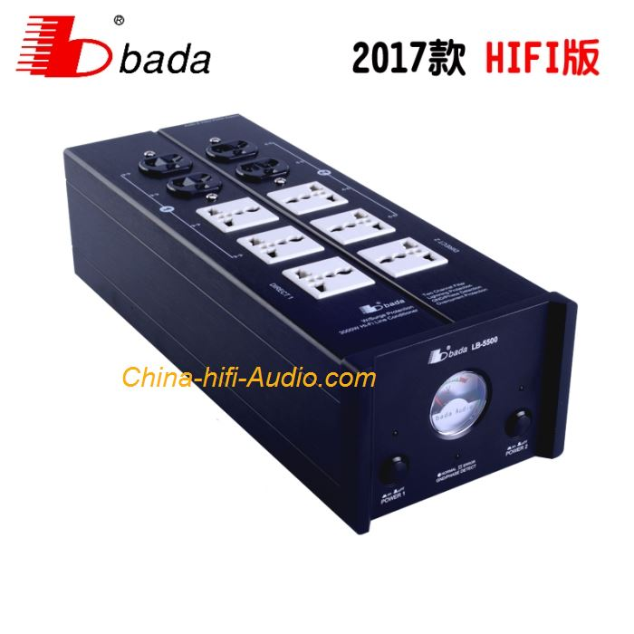BADA LB-5500 Audiophile Power filter Plant universal HI-FI power Socket Upgrade
