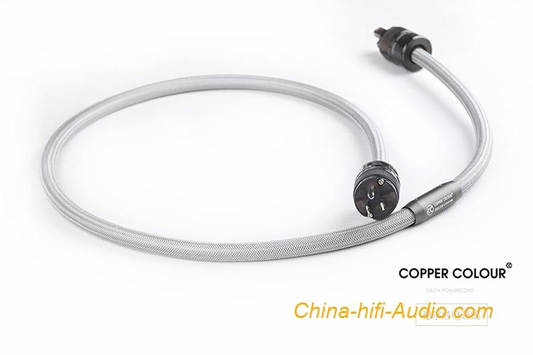 Copper Colour Cc Delta Occ Audiophile Power Cord Au Ar Us