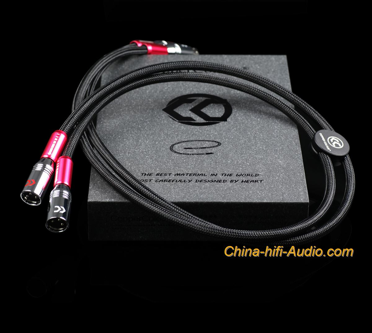 CopperColour CC WHISPER-SE OCC XLR audiophile Audio Balanced cable
