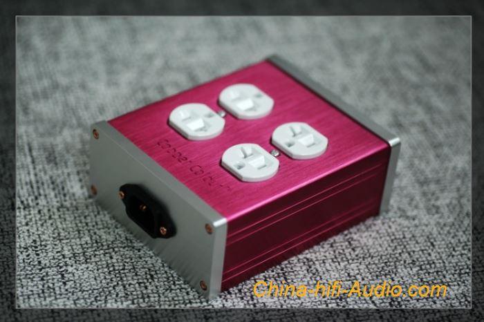 CopperColour CC COLOR-4-RH coper rhodium-plated Hifi power socket US-Plug New