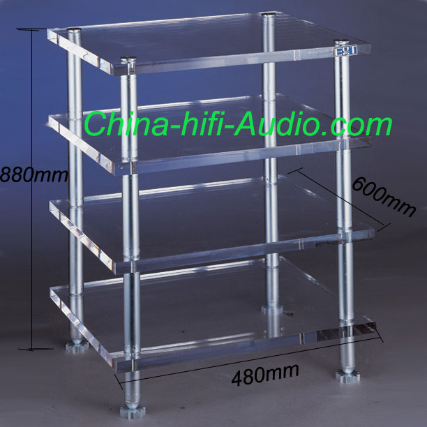 E&T 11-T660-Y Hi-end Equipments hifi audio rack Acrylic(PMMA) cabinet