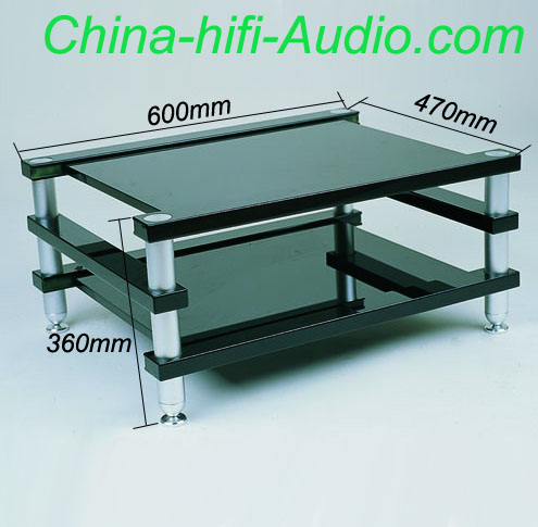 E&T A1.2D-2(D36) Acrylic audio equipments racks stands desk