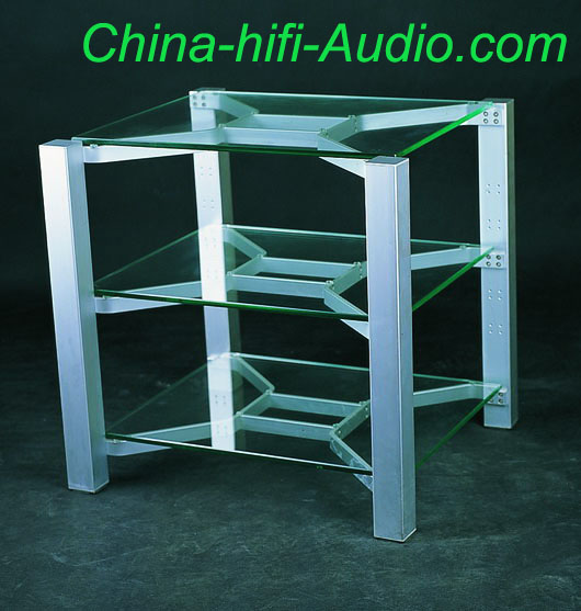E&T TV-5803 Tempered Glass Desk For Audio Equipments