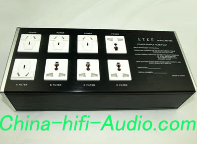 E&T YB-840 Advanced Power Filter and power strip for hifi AMP