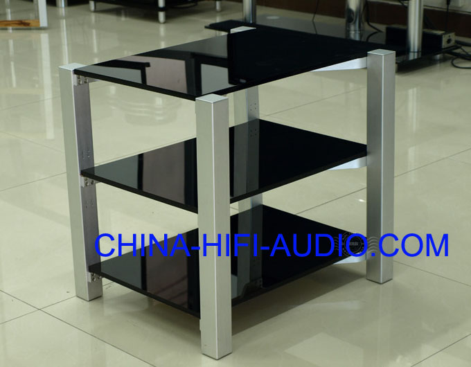 E&T A1.3D-3 Acrylic PMMA Audio Rack For Equipments ET Black
