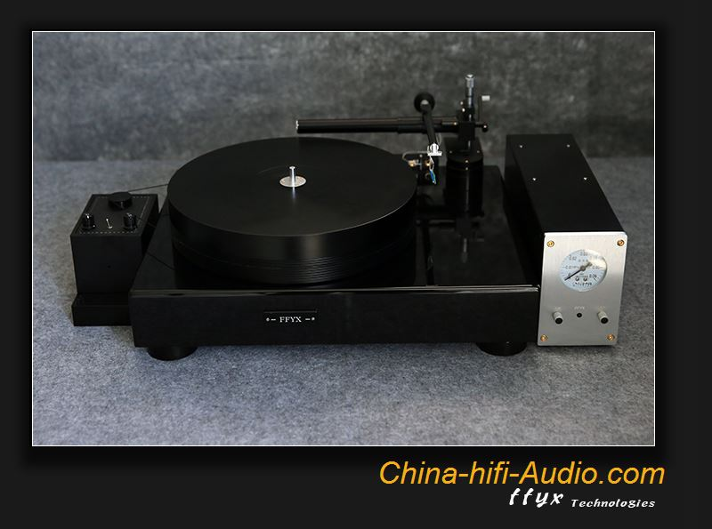 FFYX MKIII Deluxe turntable with AA36 tone arm air-bearing record player suit