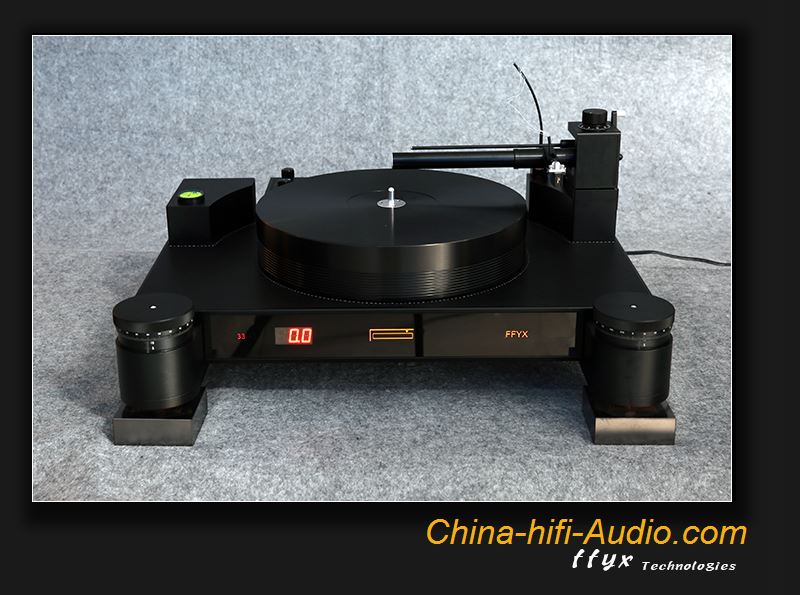 FFYX T1803 vinyl record player HiFi air bearing turntable tangent tonearm set