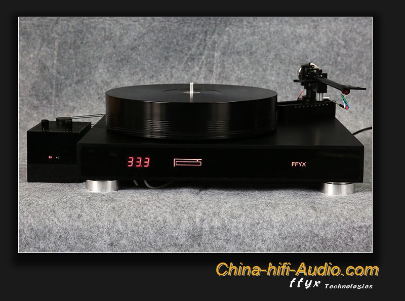 FFYX T1804 Hi-Fi maglev bearing turntable & A182 tonearm record player set New