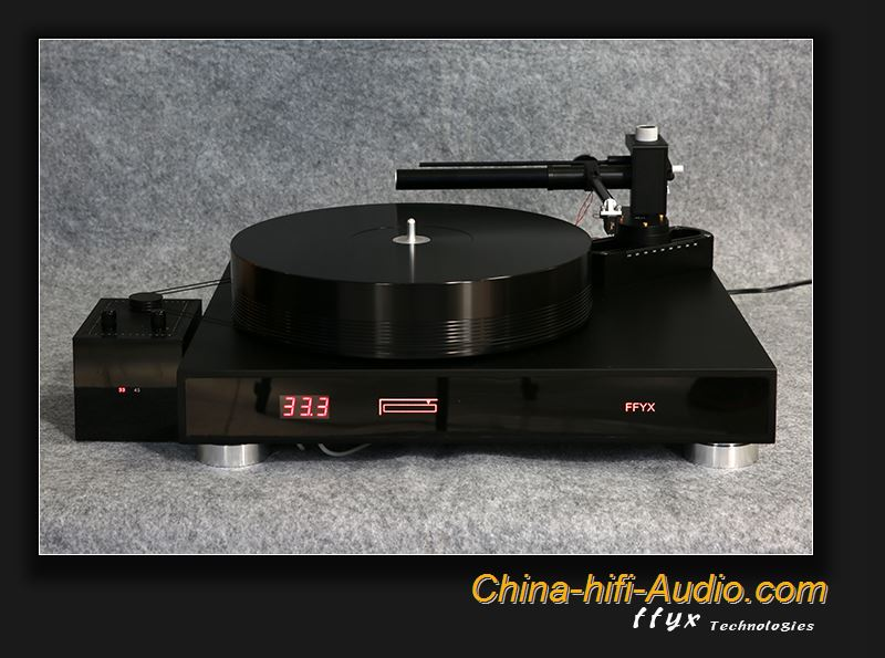 FFYX T1804A turntable air bearing with AA25 tonearm vinyl record player set