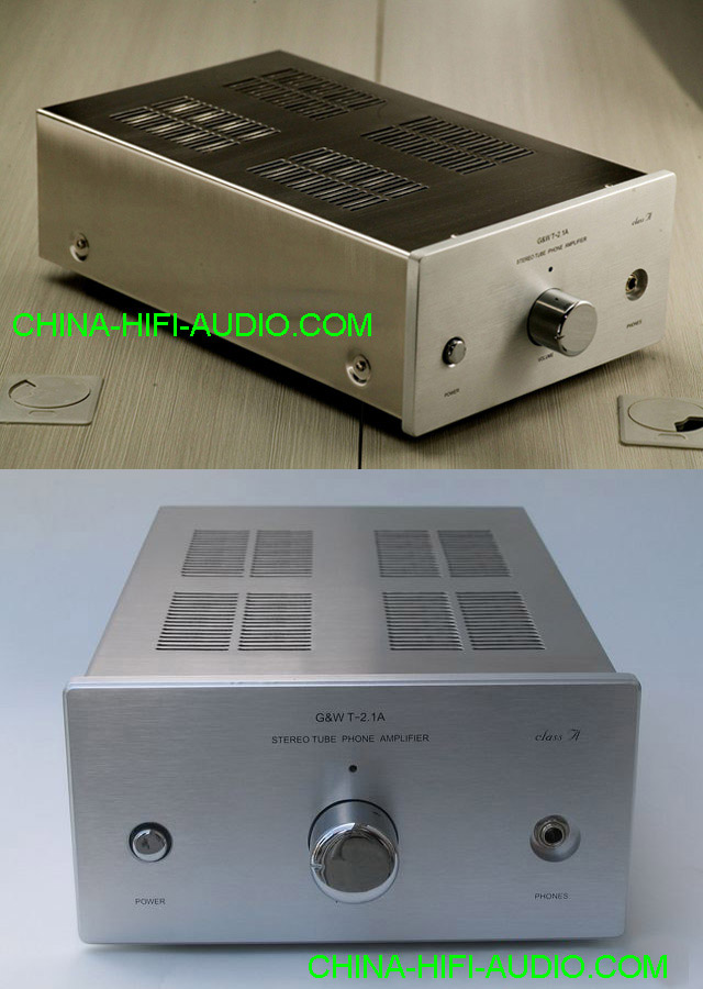 G&W Tsinghua T-2.1A single-end Class A tube headphones amplifier