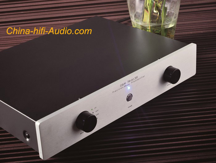 G&W TW-A1.3SE single-ended Class A preamplifier Gawain circuit