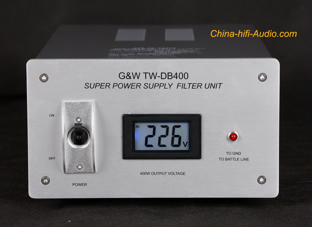 G&W TW-DB400 hi-fi power supply filter super purifier socket new - Click Image to Close