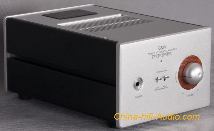 G&W TW-F230 Stereo tube Headphone amplifier advanced FET preamp for hifi audio