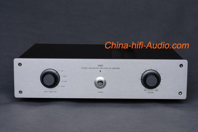 G&W TW-2006X MKII intergrated amplifier Stereo audio 2×100W bran