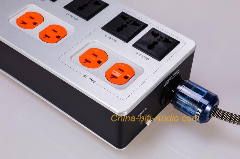 GS-AUDIO GS-10D HiFi power filter purifier power socket with 10