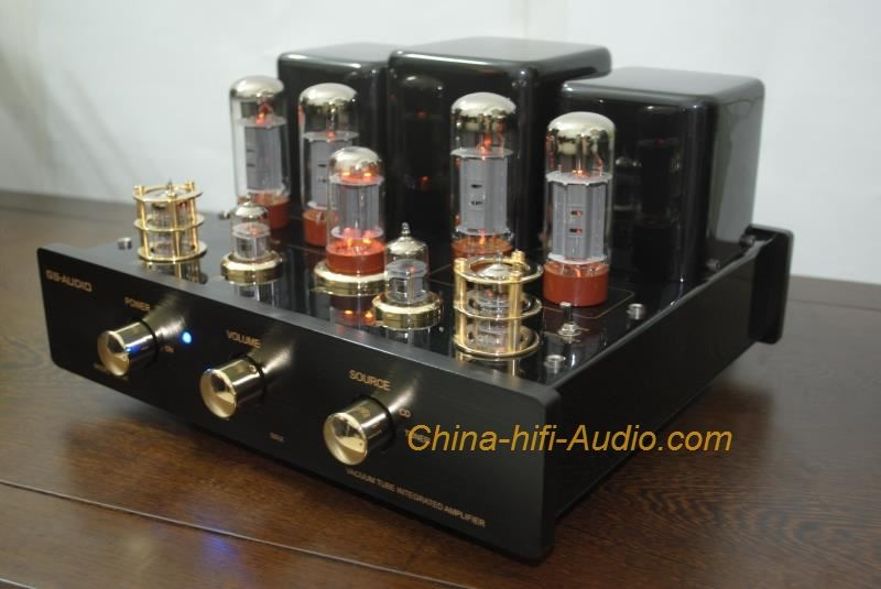GS-AUDIO GS-34I HIFI EL34 vacuum tube Integrated amplifier home audio amp black
