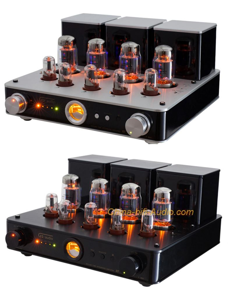 GS-AUDIO R8 6550EH Russia vacuum tube amplifier audiophile with remote control