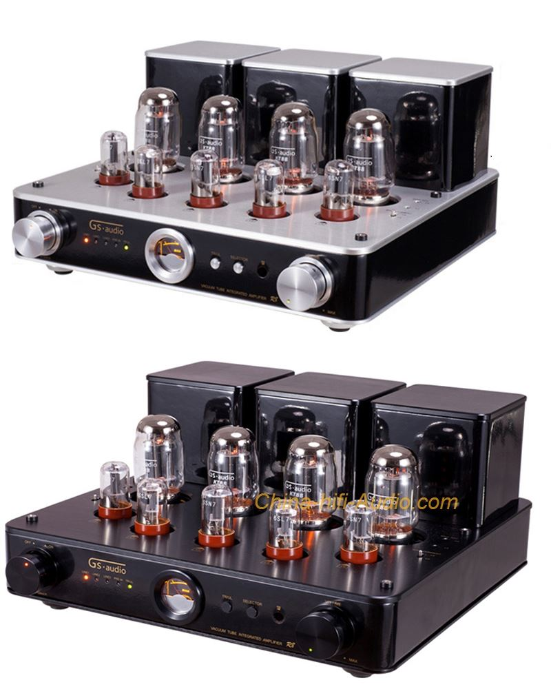 GS-AUDIO R8 hifi KT88 vacuum tube Amplifier audiophile amp with remote control